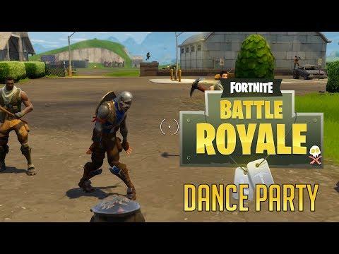 Start A Dance Party (Fortnite Battle Royale)