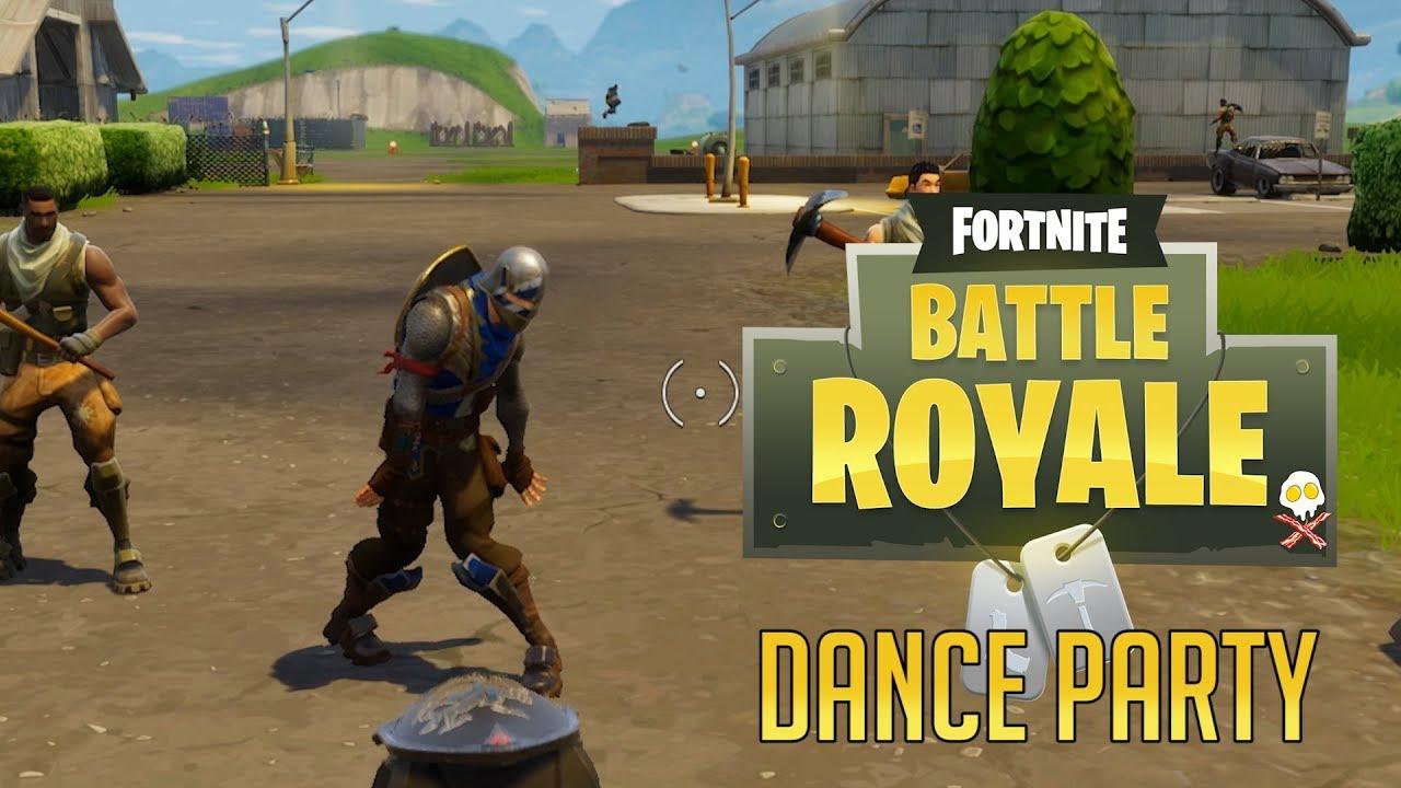 start a dance party fortnite battle royale - fortnite dance clips