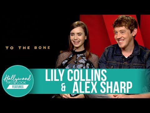 Lily Collins & Alex Sharp Exclusive Interview  To the Bone: Making Of 2017
