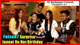 Jannat Zubair Celebrate Her Birthday With Her Family And Friends
