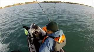 Kayak Fishing Lake Michigan King Salmon