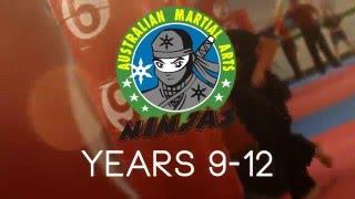 Australian Martial Arts Academy Ninjas Program (9-12 Years Old)
