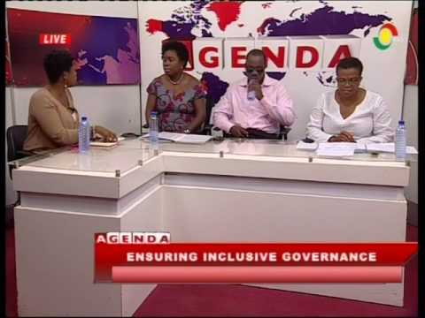 Discussing how to ensure inclusive governance - 25/2/2017