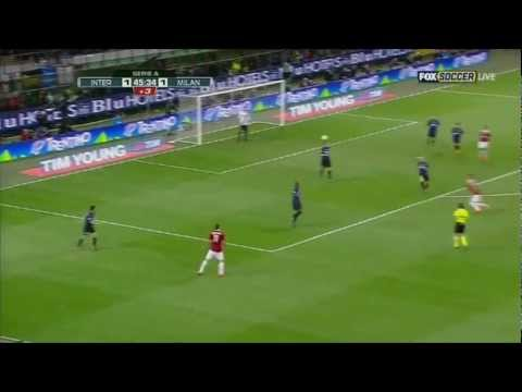 Esteban Cambiasso vs Milan 2012 [HD 1080] by Vickingo