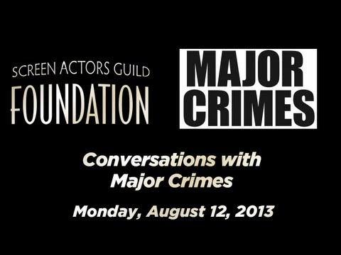 Conversations with Cast and Executive Producers of MAJOR CRIMES