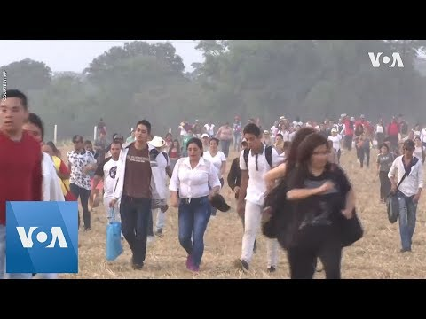 Thousands of Colombians in Venezuela for Live Aid