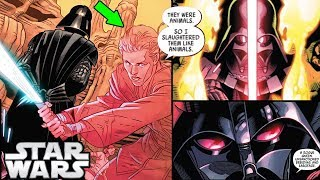NEW! Vader RETURNS to THE Geonosis Arena for the FIRST TIME (CANON) - Star Wars Comics Explained