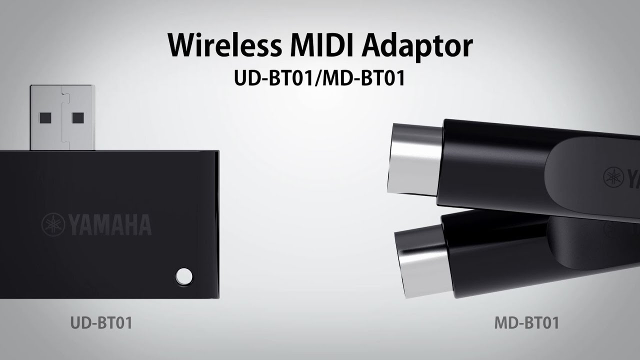 wireless midi adaptor md bt01 and ud bt01 youtube. Black Bedroom Furniture Sets. Home Design Ideas