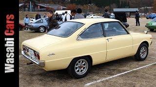 Unicorn JDM: 1973 Mazda Familia Rotary Coupe GS / R100