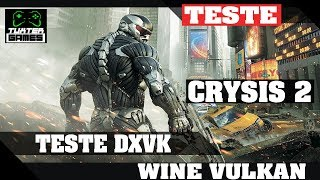 Crysis 2 DXVK // Wine 3.8 Staging via Lutris