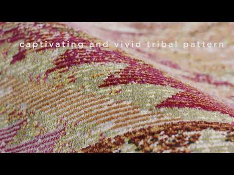 Jaipur Living Nikki Chu - Rhythmik - Decca RHN-06 Orange, Gold