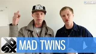 Repeat youtube video MAD TWINS  |  Mad Russian Beatbox