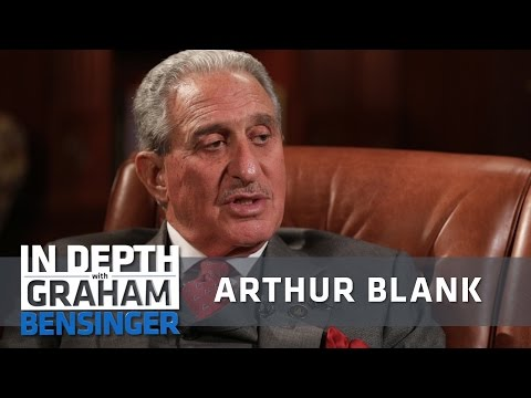 Arthur Blank: Shaped by my father's death