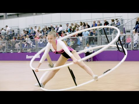 German Championships in Gymwheel 2017 Maren Grätsch 20th Place