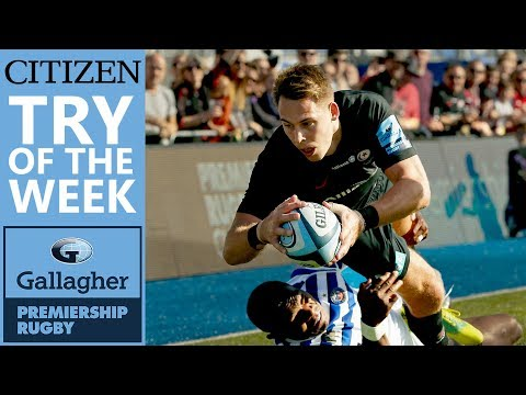 Citizen Try Of The Week - Round 5 | Gallagher Premiership 2018/19