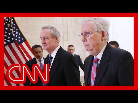 McConnell pressures senators to vote against Capitol riot commission