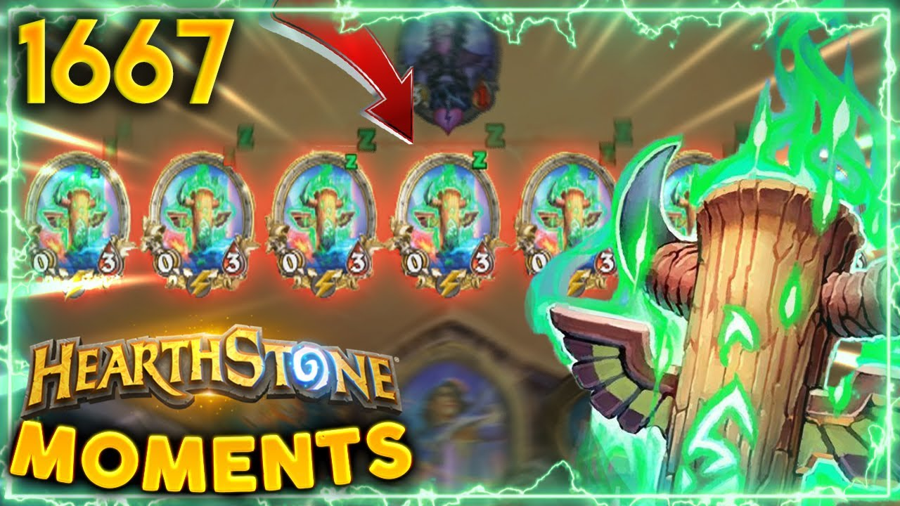 A Board Full Of TRICK TOTEMS! | Hearthstone Daily Moments Ep.1667