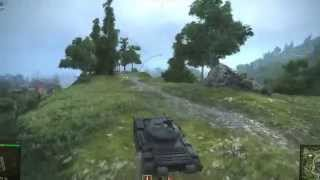 all.network Эксклюзив! Новая физика движения танков World Of Tanks! Обзор от Джова! 720p