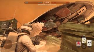 STAR WARS™ Battlefront™ How to get in the Cargo ship on Dune Sea Exchange