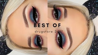 BEST OF DRUGSTORE MAKEUP 2017 + TUTORIAL || GIO DREVELI ||