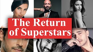 Turkish actors who will be back in the new season