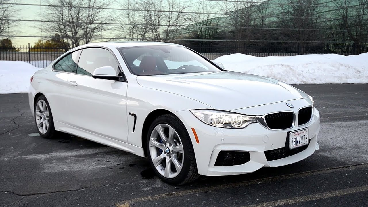 2014 Bmw 435i Xdrive Coupe 6 Speed Manual Wr Tv