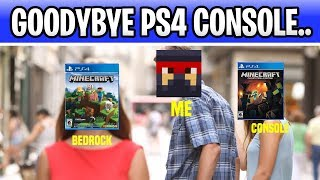 Minecraft PS4 Console Goodbye Stream! Hello PS4 Bedrock!