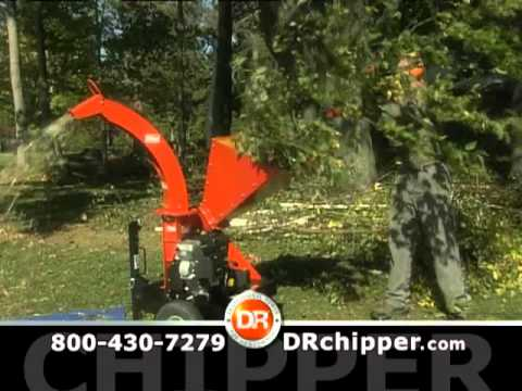 """DR Wood Chipper: """"The Place You Call Home"""" with DR Power"""