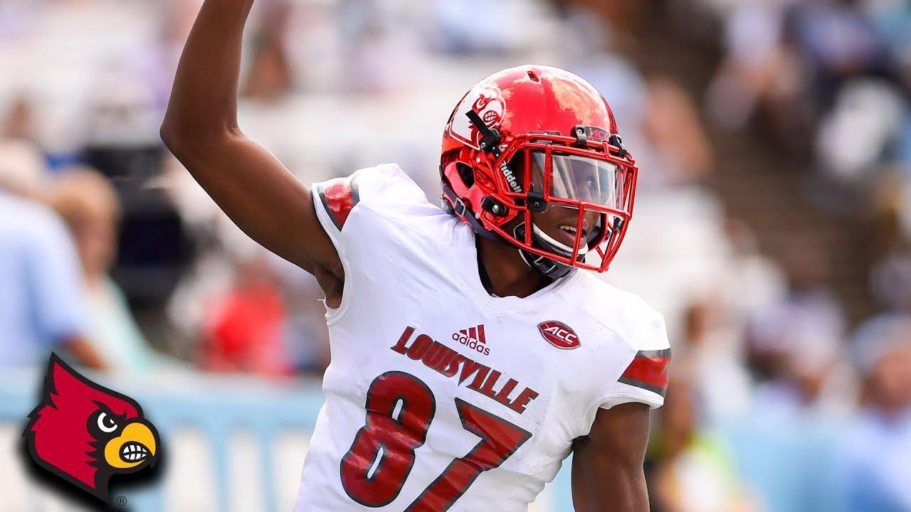 Louisville WR Dez Fitzpatrick: Touchdown Machine - YouTube