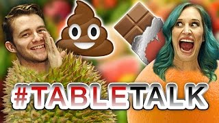 Chocolate Tastes Like Sh*t on #TableTalk!