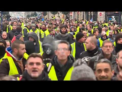 Gilets jaunes acte 8 le point sur la manifestation du 5 janvier à Rouen