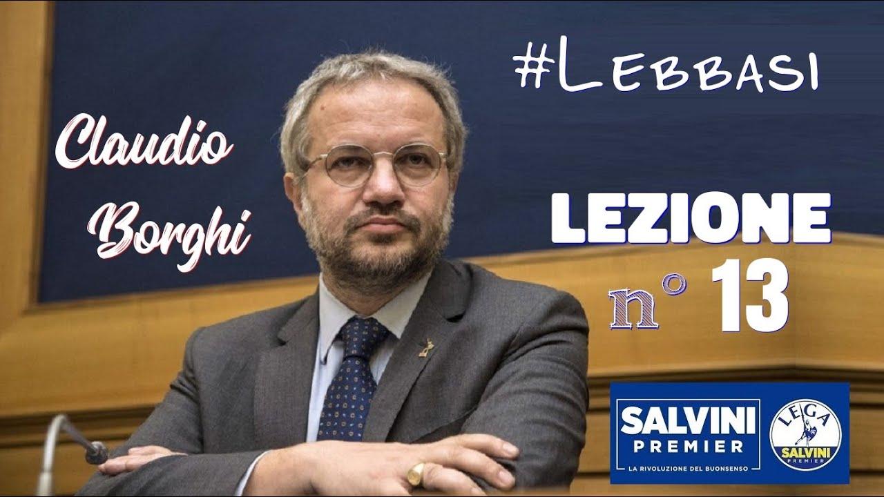 🔴 Borghi, #Lebbasi - Lezione 13: Bail in, Bail out, azioni e obbligazioni.