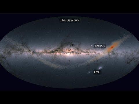 Галактика Насос 2 (Antlia 2) – ультрадиффузный спутник у края Млечного Пути