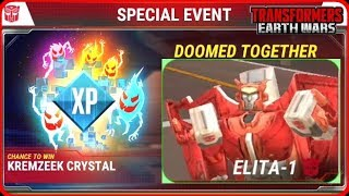 ELITA-1 / LUGNUT - SPECIAL EVENT - DOOMED TOGETHER + Story Dialogue - TRANSFORMERS: Earth Wars