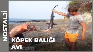 Murat ve Bozok Köpek Balığı Yakalamıştı - Survivor Nostalji