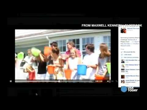 Obama gets 'Ice Bucket Challenge' from Kennedy family