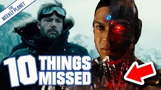 JUSTICE LEAGUE Official Trailer - Easter Eggs & Things Missed