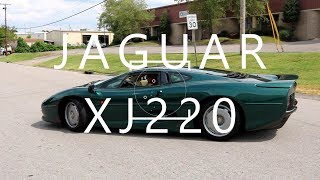 THE XJ220, JAGUAR BUILDS THE WORLD'S FASTEST PRODUCTION CAR
