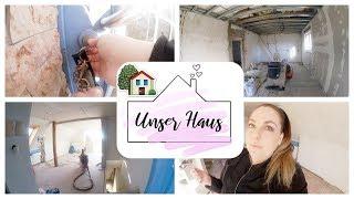 Haus Update #7 | Es wird gestrichen! |extra Anfertigung für das Haus | Boden für Esszimmer und Flur