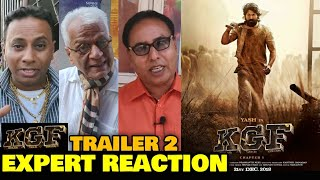 KGF Trailer 2 Hindi | EXPERT REACTION On Public Demand | Rocking Star Yash, Srinidhi Shetty