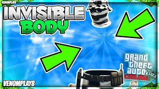 GTA 5 SOLO HOW TO GET A INVISIBLE TORSO 1.50! INVISIBLE BODY GLITCH! (GTA 5 MODDED OUTFIT GLITCHES!)