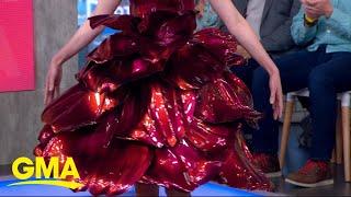 Designer Zac Posen calls 3D printed Met Gala gowns 'the future' of fashion l GMA