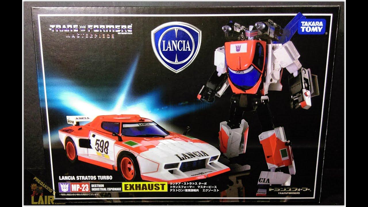 Transformers TAKARA MP-23 Masterpiece Exhaust Lancia Stratos Turbo K-O in stock