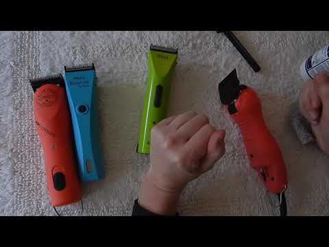 How to clean and store your horse clippers!