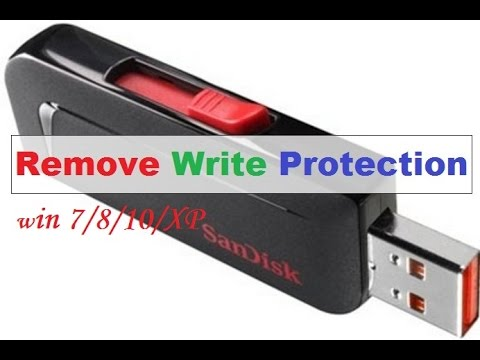 usb flash drive write protected [b]question: help usb flash drive suddenly became write-protected[/b] i have a 64gb usb flash drive that suddenly went write-protected (read only) it has.