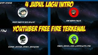 Download Lagu 4 JUDUL LAGU INTRO YOUTUBER TERKENAL | RENDY RENGERS,PAPA LIMITE,FDW'CEPCIL mp3