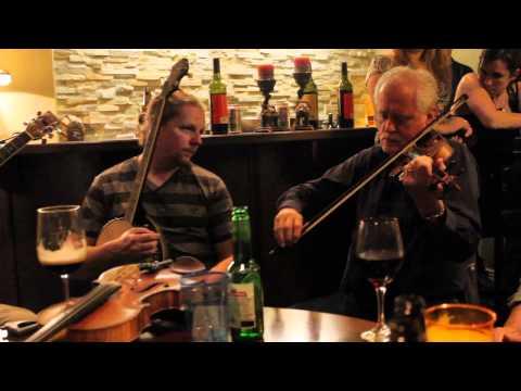 Matt Cranitch playing a beautiful slow air, accompanied by Paul de Grae.