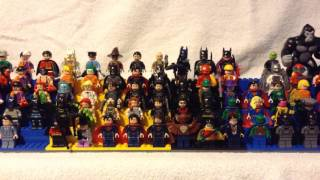 My Lego DC Comics Minifigure Collection (Check Description!)