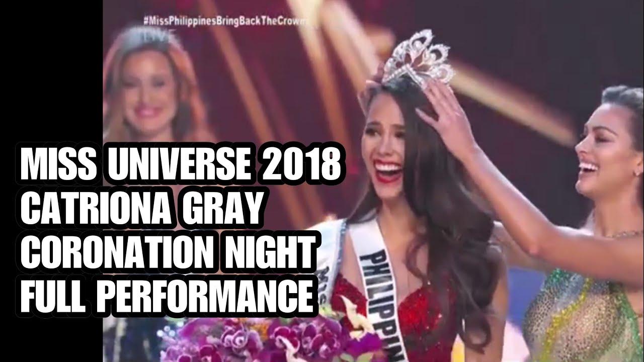 Miss Universe 2018 Catriona Gray Full Coronation Night Performance Pinoypride Missuniverse2018