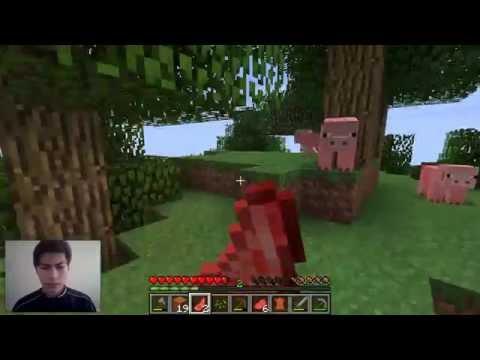 Minecraft Hayatta Kalma / Ilk Gün Hayatta Kalmak / Bölüm 1